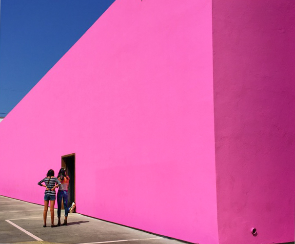 Life in the City of Angels- Pretty in Pink, Pink, Pink